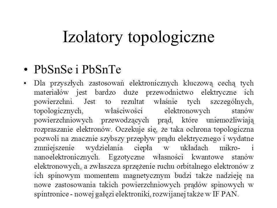 Izolatory topologiczne