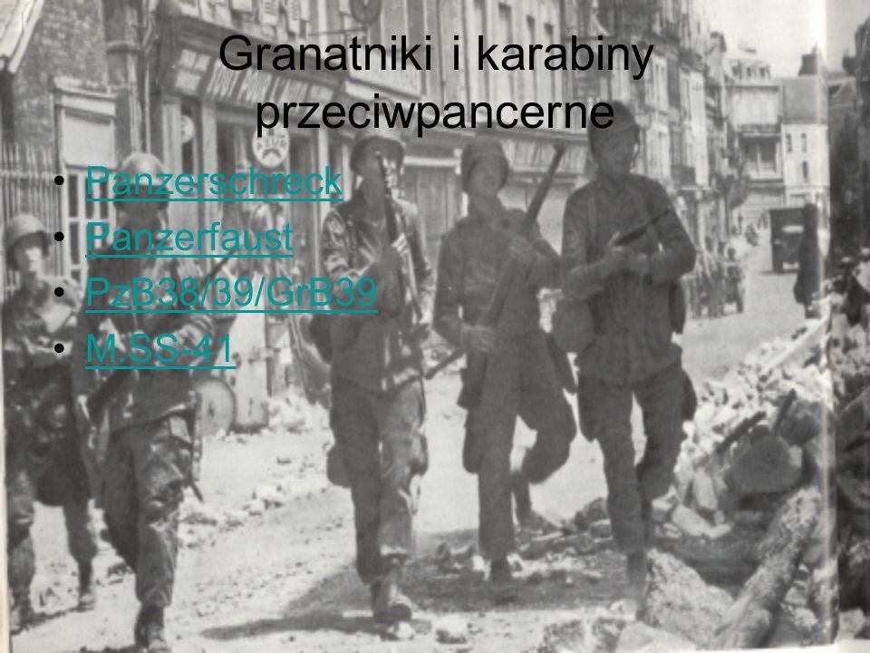 Granatniki i karabiny przeciwpancerne