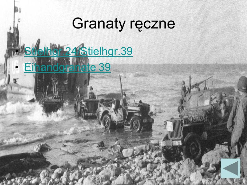 Granaty ręczne Stielhgr.24/Stielhgr.39 Eihandgranate 39