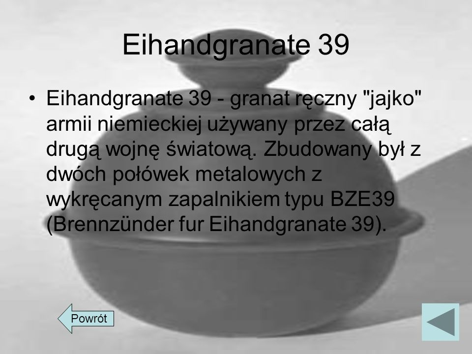 Eihandgranate 39