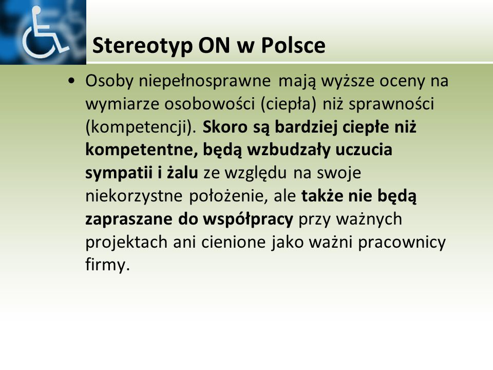 Stereotyp ON w Polsce