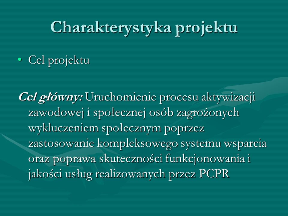 Charakterystyka projektu