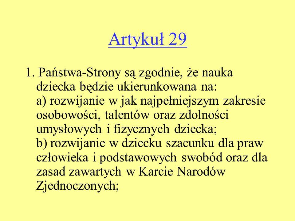 Artykuł 29