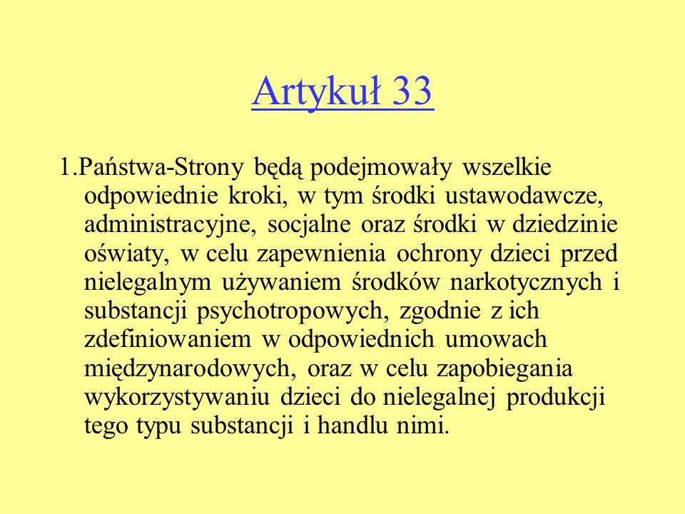 Artykuł 33