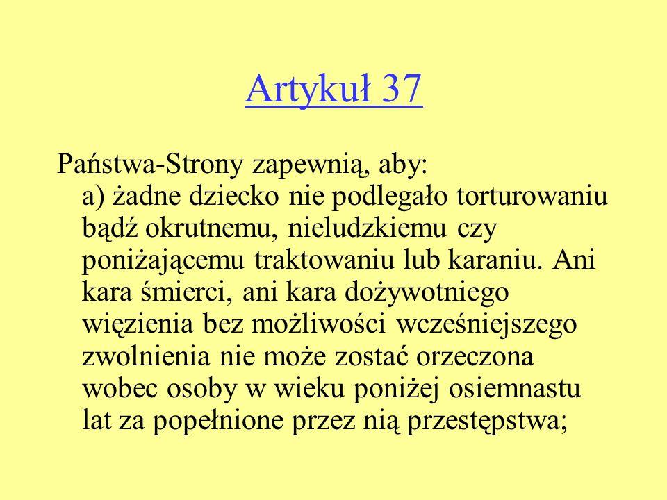 Artykuł 37