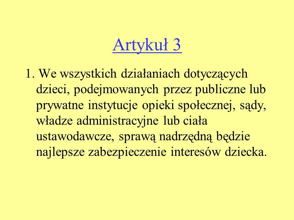 Artykuł 3