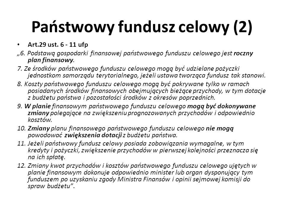 Państwowy fundusz celowy (2)