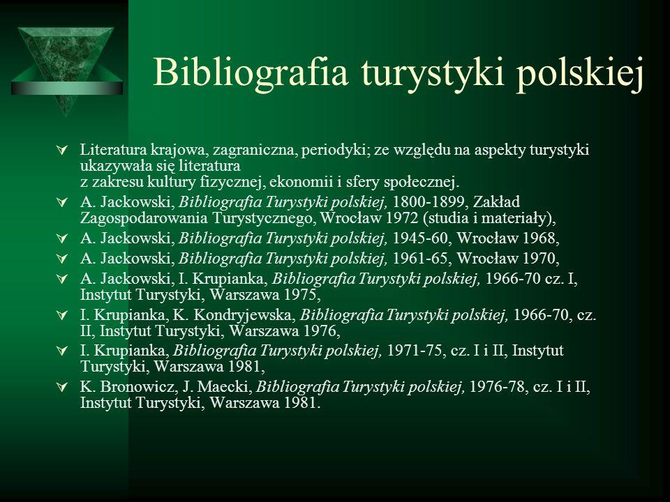 Bibliografia turystyki polskiej