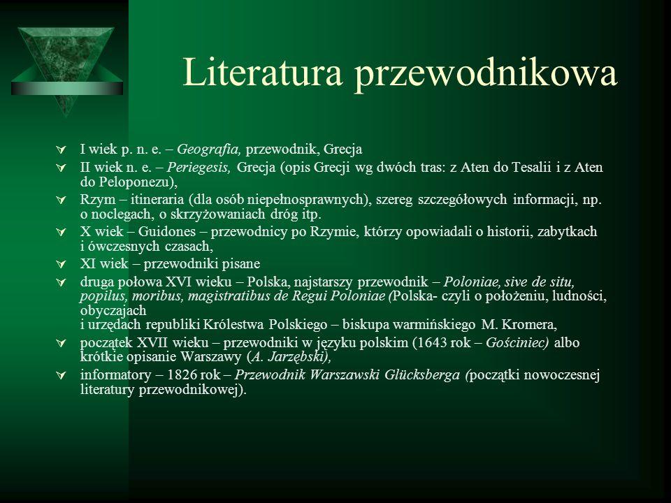 Literatura przewodnikowa