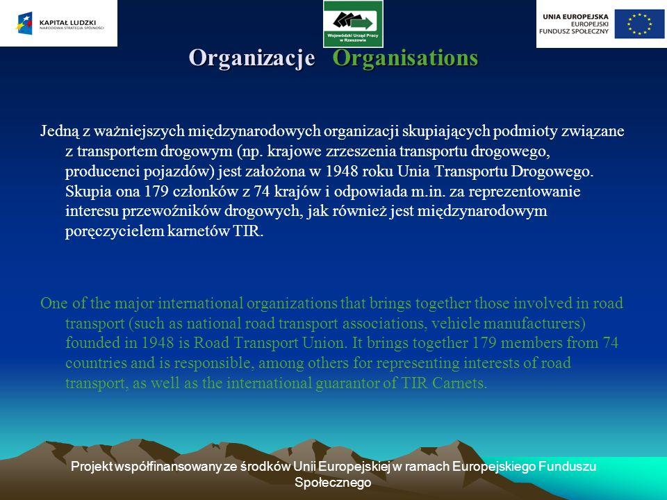 Organizacje Organisations