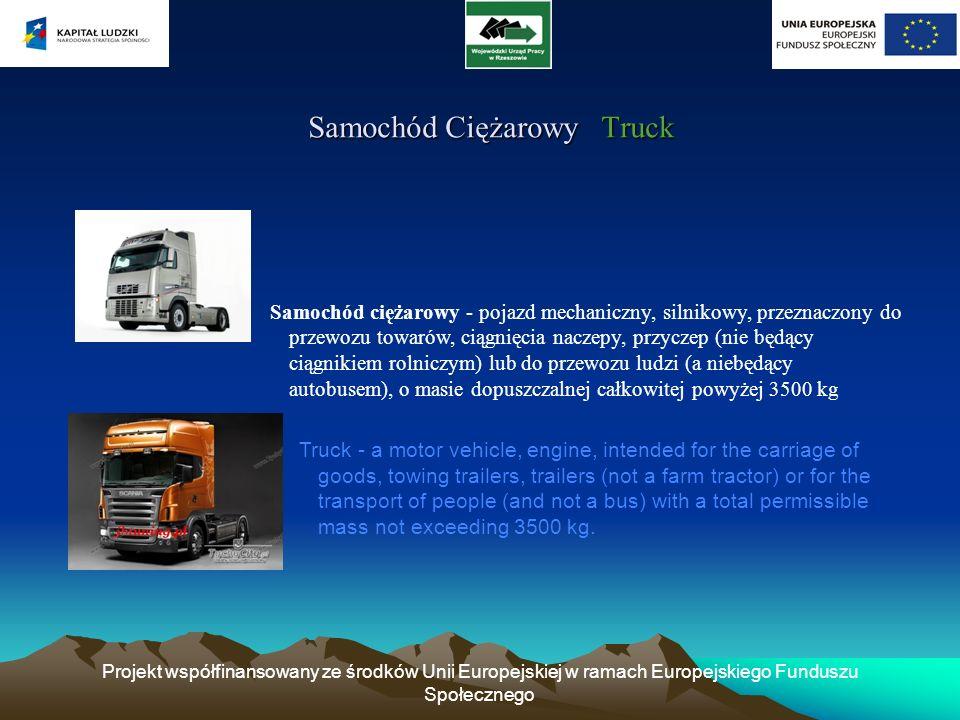 Samochód Ciężarowy Truck
