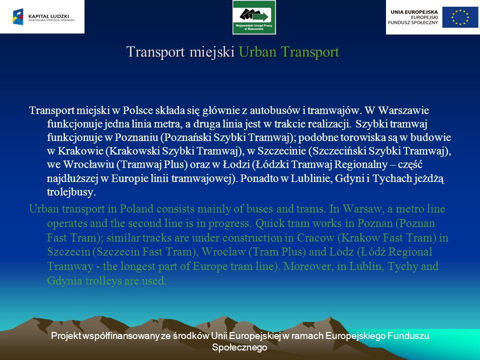 Transport miejski Urban Transport