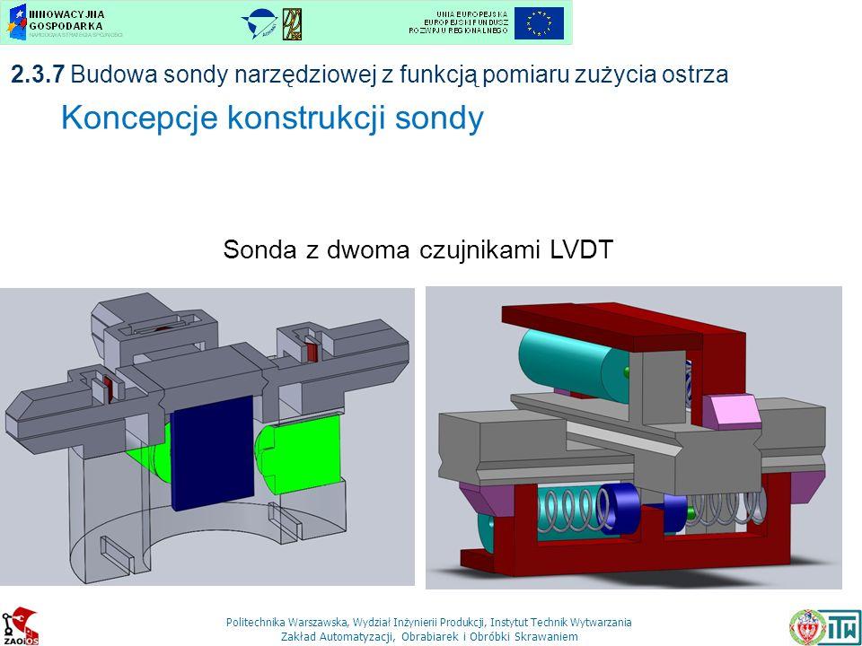 Koncepcje konstrukcji sondy