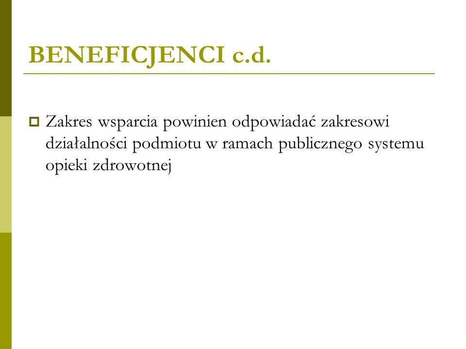 BENEFICJENCI c.d.