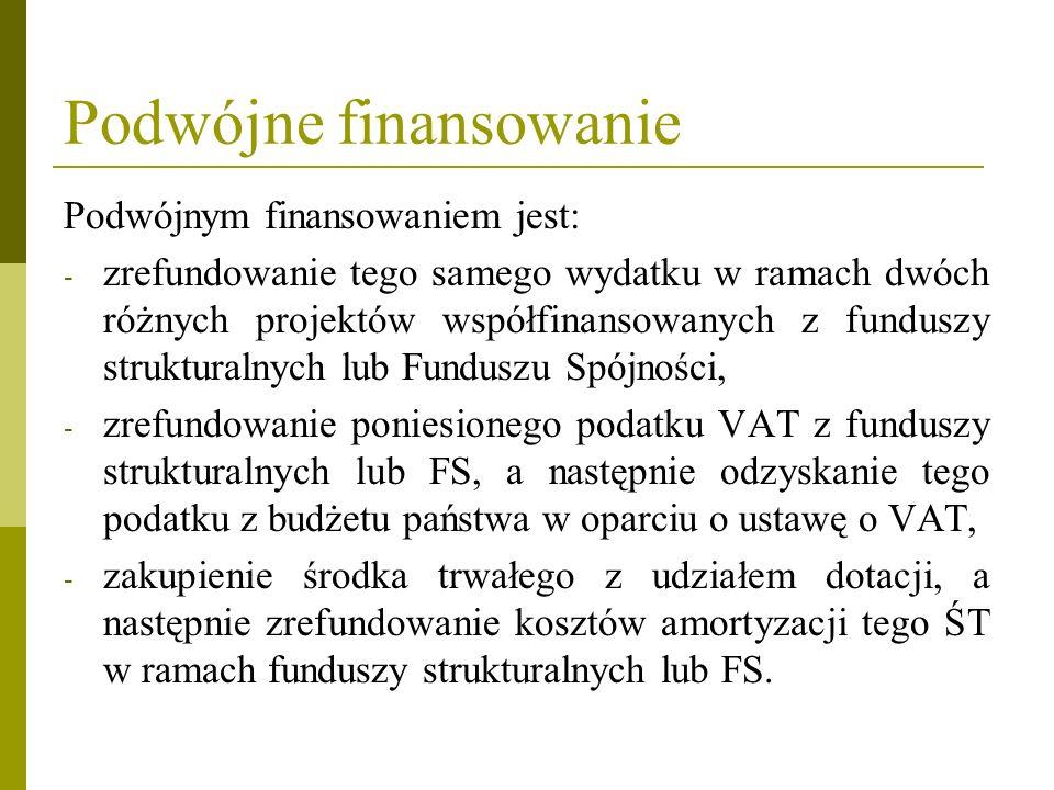 Podwójne finansowanie