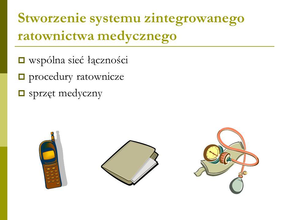 Stworzenie systemu zintegrowanego ratownictwa medycznego