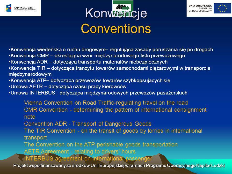 Konwencje Conventions