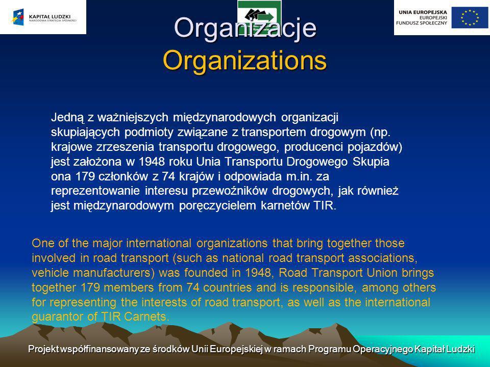Organizacje Organizations