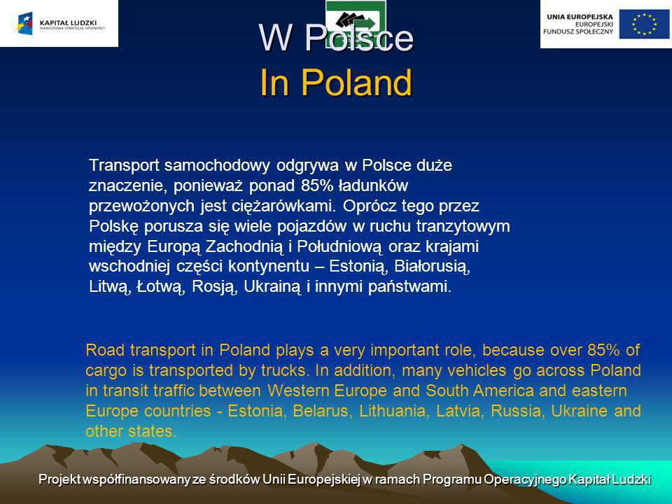 W Polsce In Poland