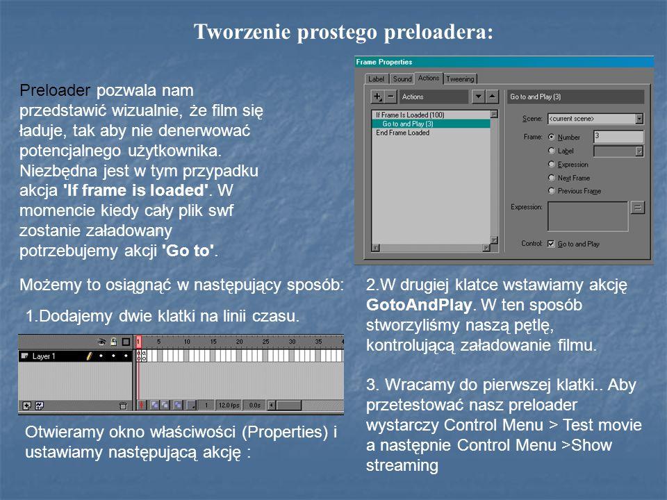 Tworzenie prostego preloadera: