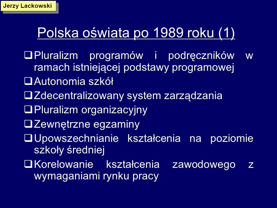 Polska oświata po 1989 roku (1)