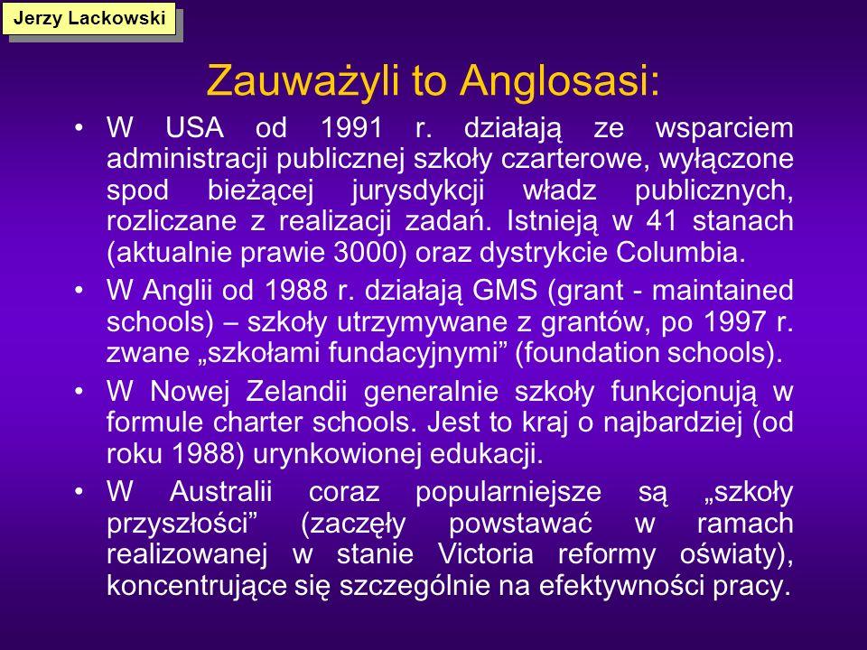 Zauważyli to Anglosasi:
