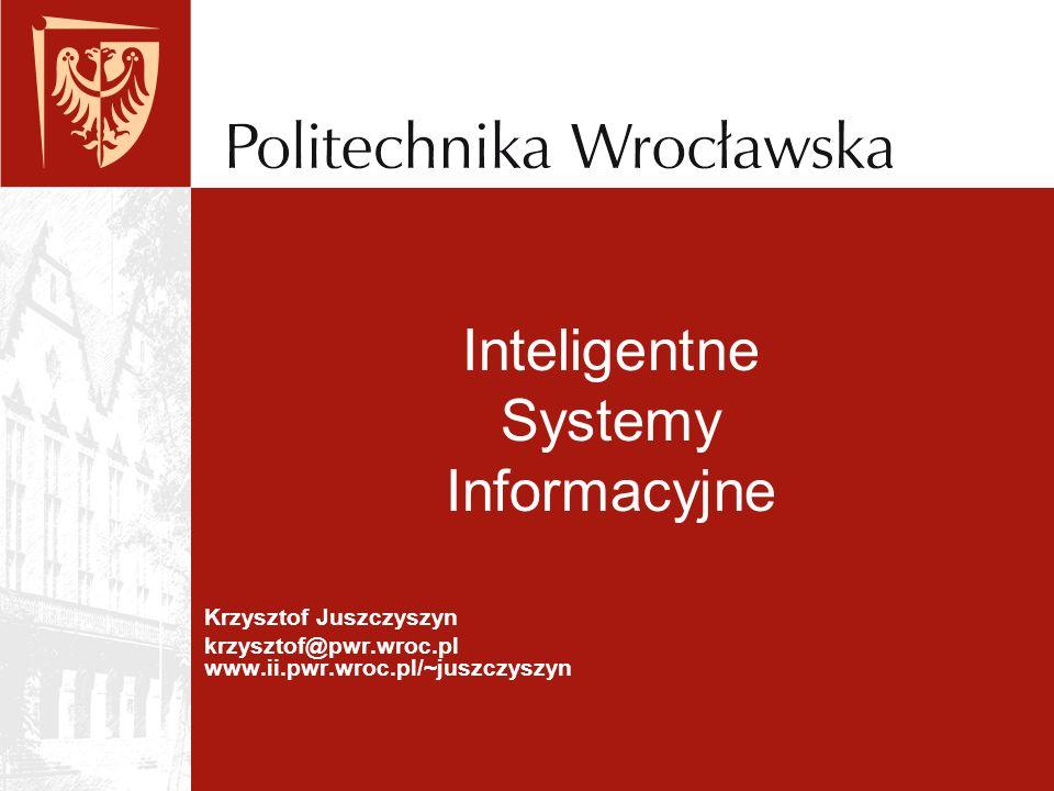 Inteligentne Systemy Informacyjne