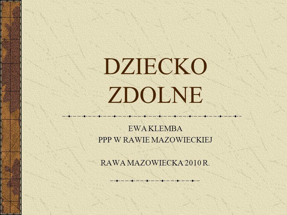 EWA KLEMBA PPP W RAWIE MAZOWIECKIEJ RAWA MAZOWIECKA 2010 R.