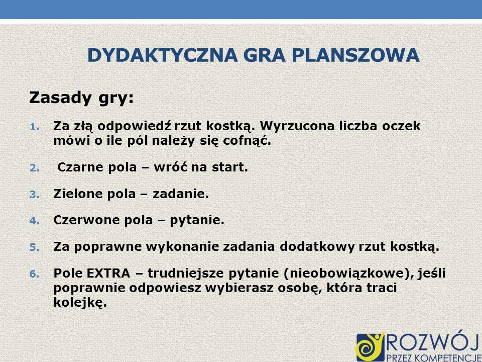Dydaktyczna Gra Planszowa