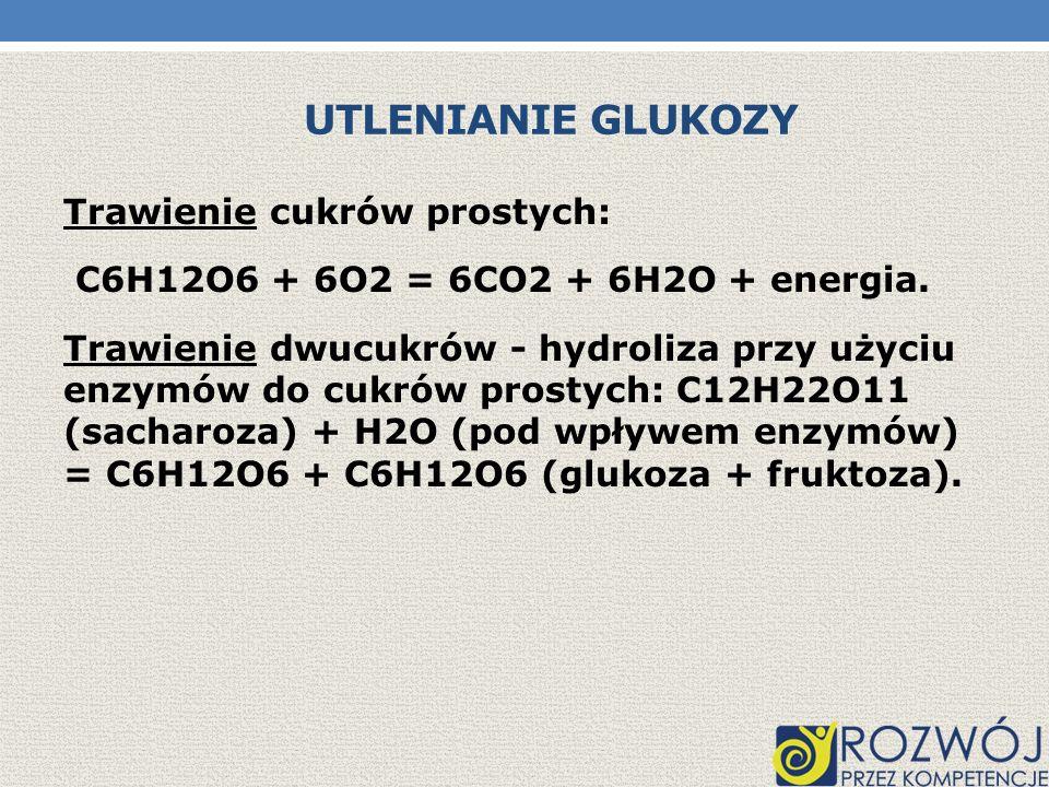Utlenianie glukozy