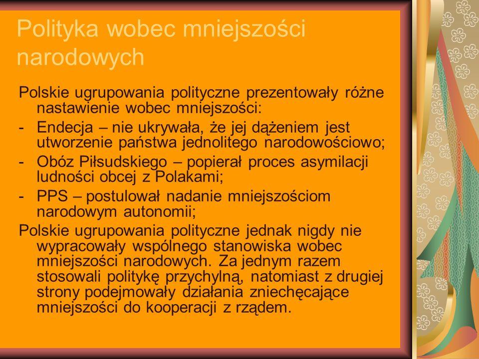 Polityka wobec mniejszości narodowych