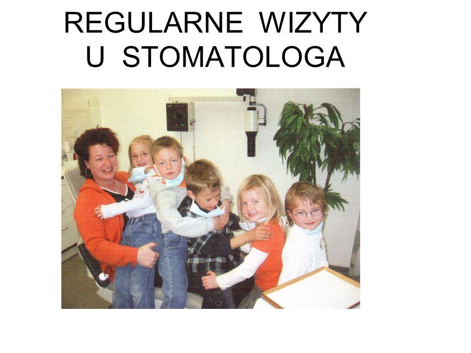 REGULARNE WIZYTY U STOMATOLOGA