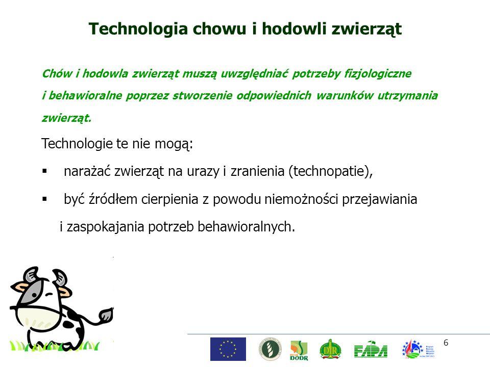 Technologia chowu i hodowli zwierząt