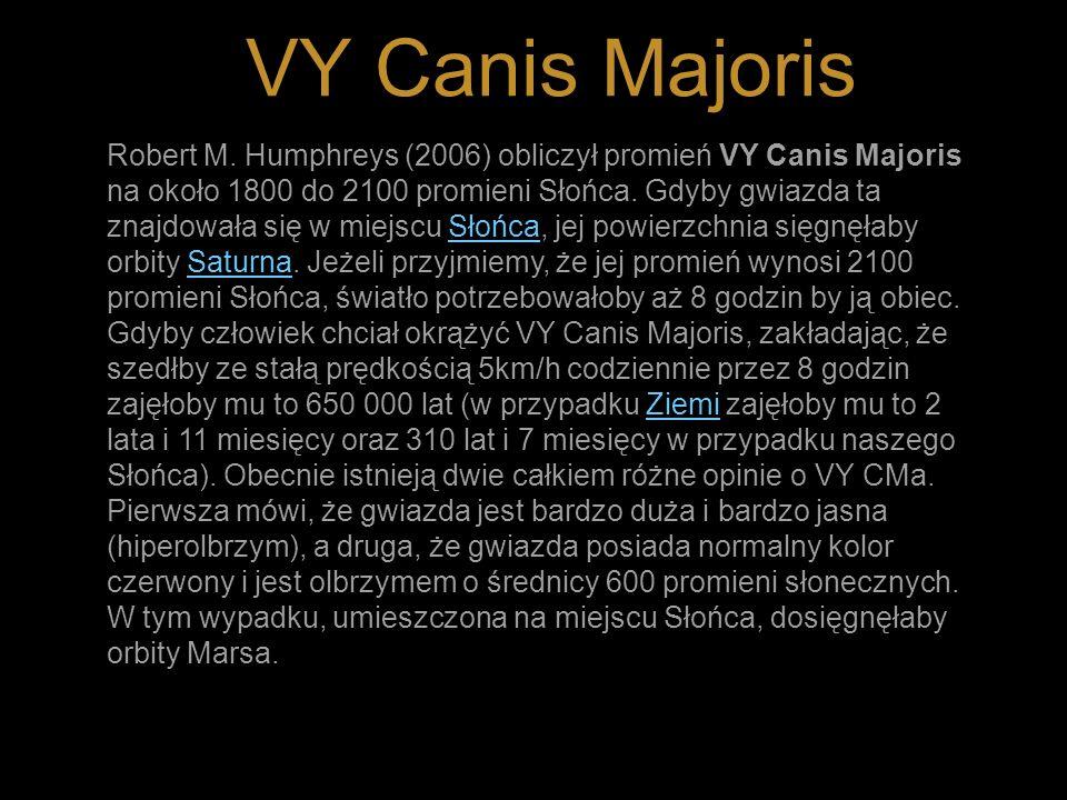VY Canis Majoris