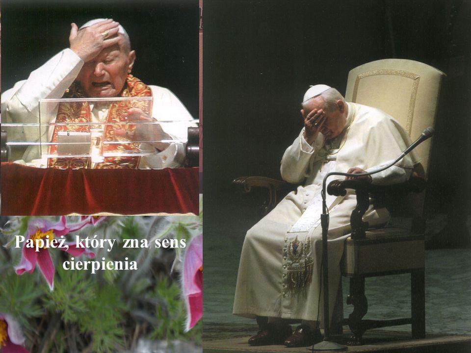 Papież, który zna sens cierpienia