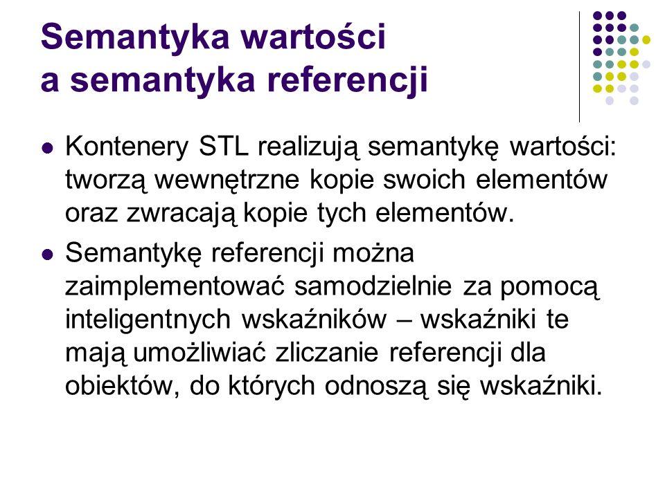 Semantyka wartości a semantyka referencji