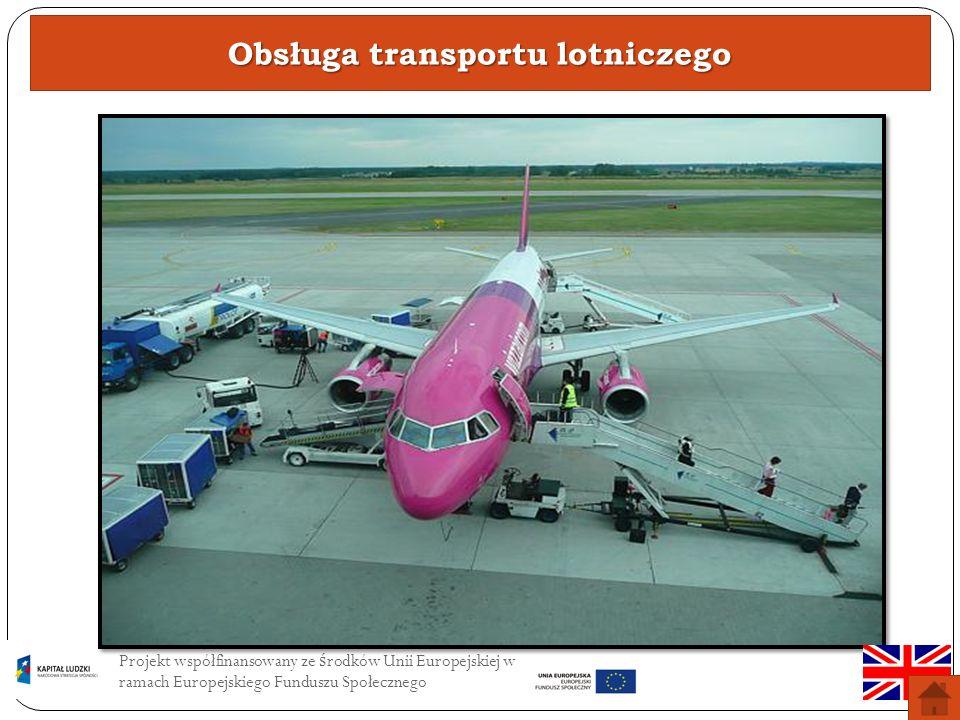 Obsługa transportu lotniczego