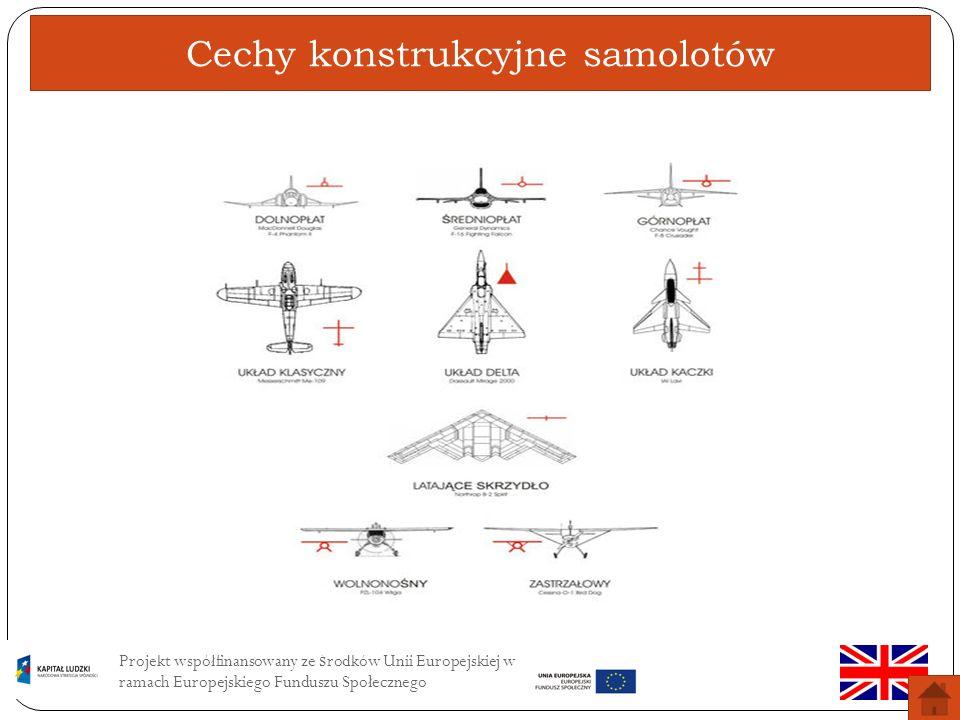 Cechy konstrukcyjne samolotów