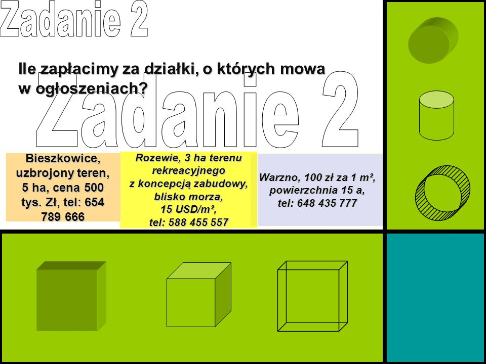 Bieszkowice, uzbrojony teren, 5 ha, cena 500 tys. Zł, tel: 654 789 666