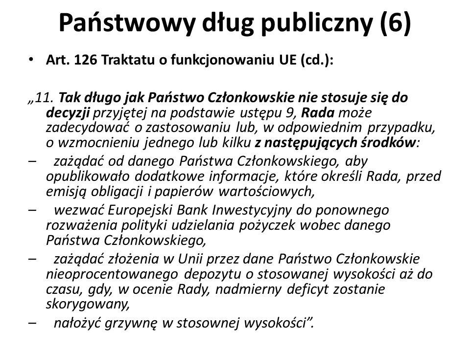 Państwowy dług publiczny (6)