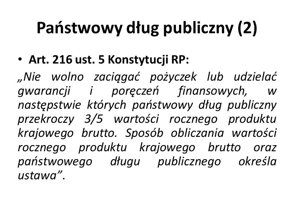 Państwowy dług publiczny (2)