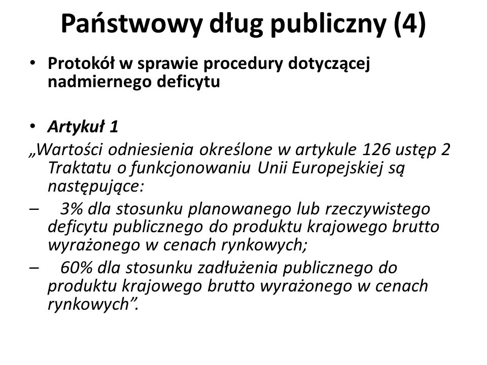 Państwowy dług publiczny (4)