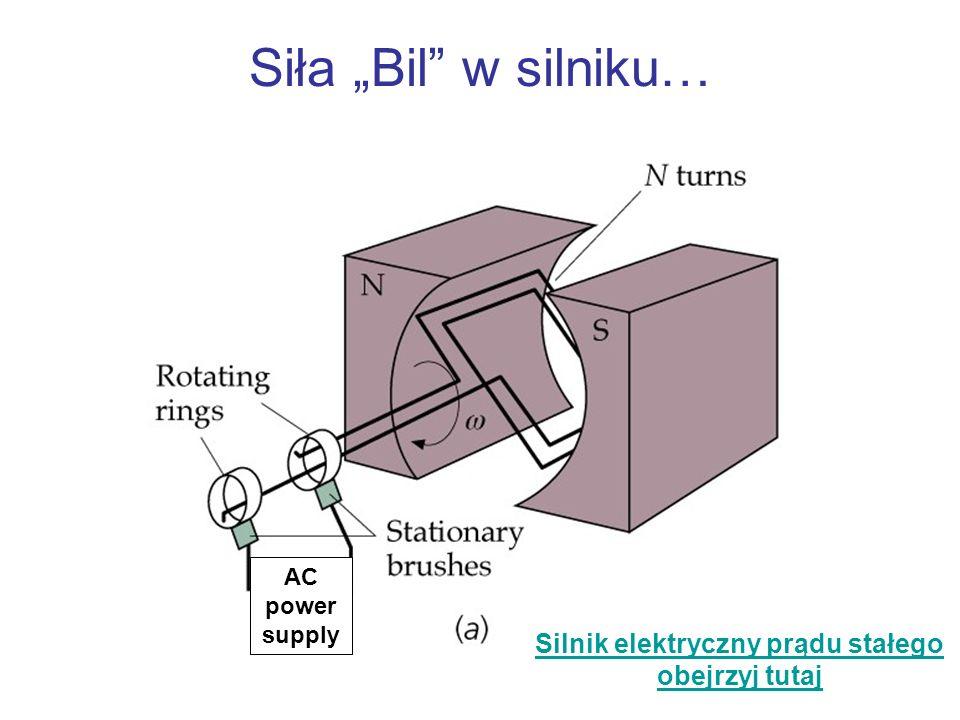 Silnik elektryczny prądu stałego