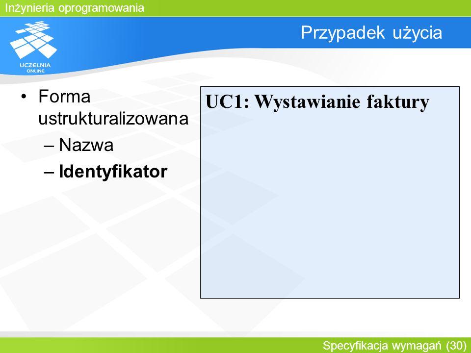 UC1: Wystawianie faktury