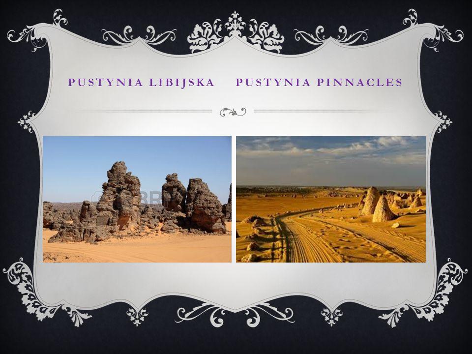 Pustynia libijska pustynia pinnacles