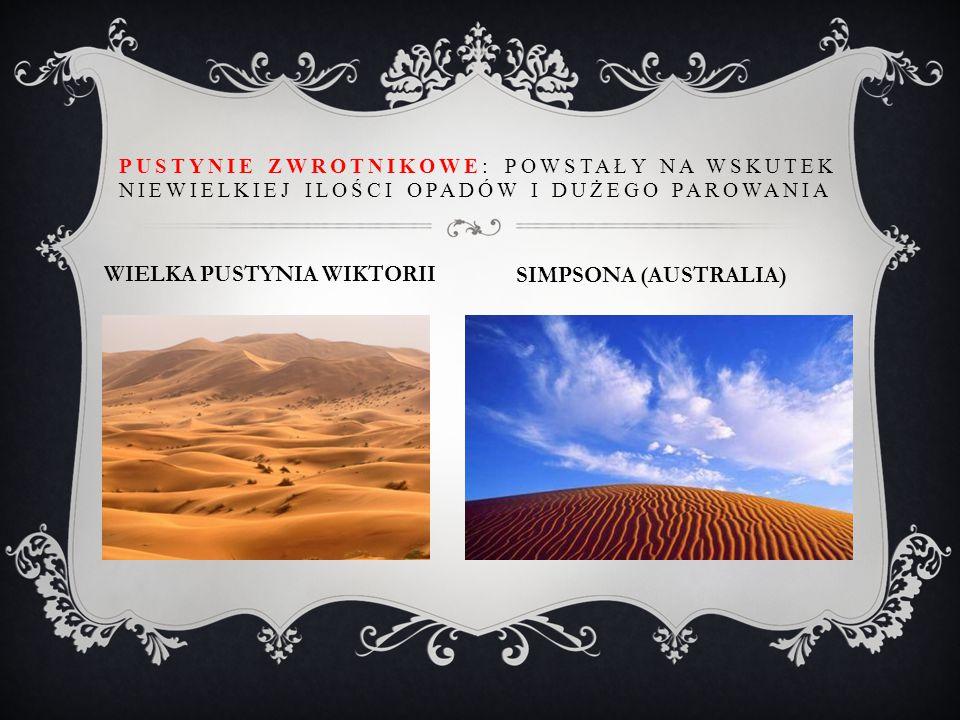 WIELKA PUSTYNIA WIKTORII SIMPSONA (AUSTRALIA)