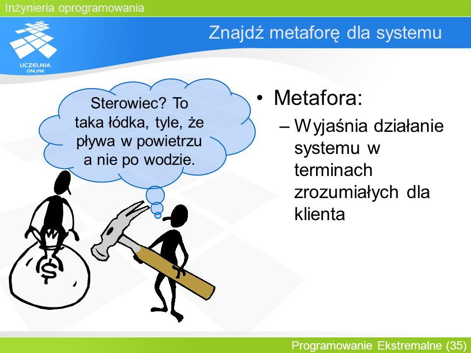 Znajdź metaforę dla systemu