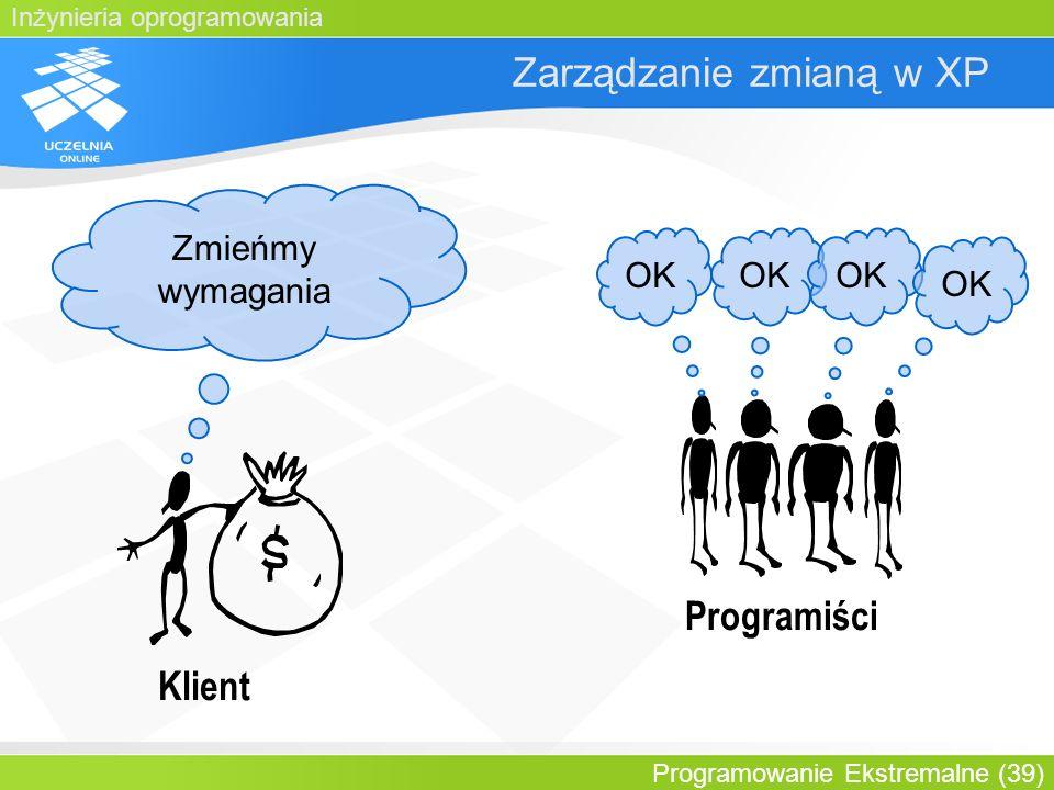 Zarządzanie zmianą w XP