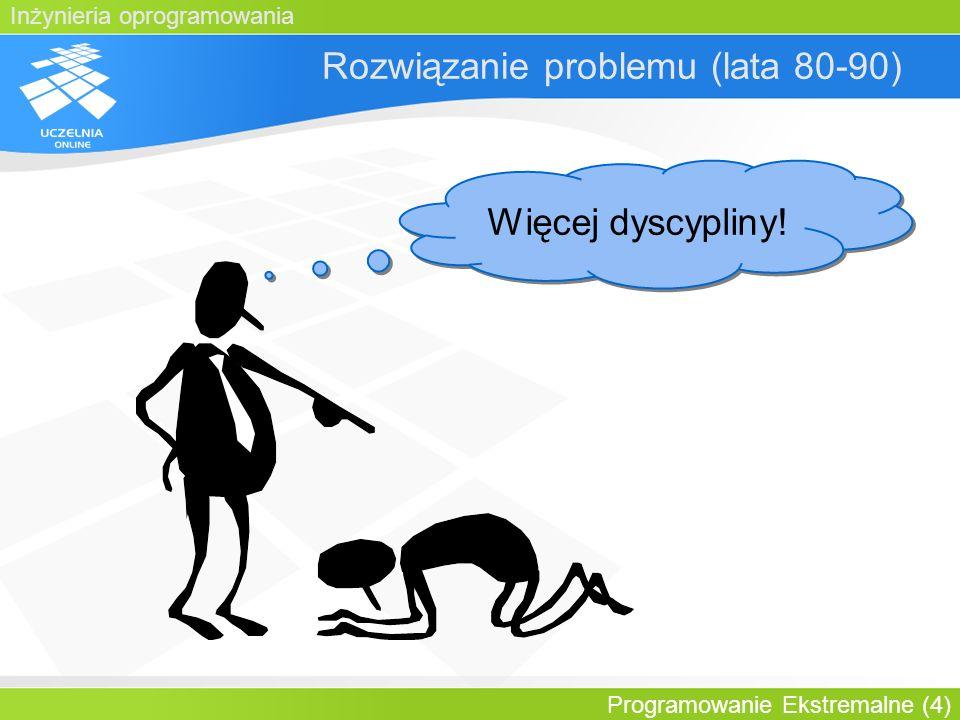 Rozwiązanie problemu (lata 80-90)