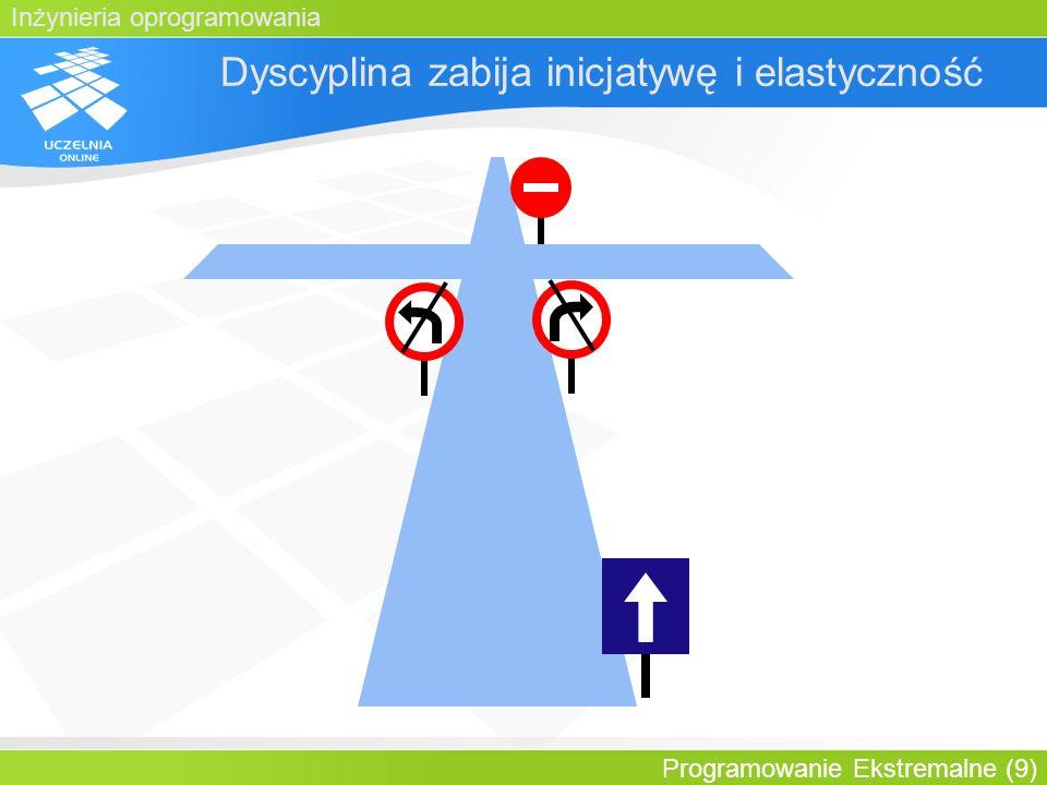 Dyscyplina zabija inicjatywę i elastyczność